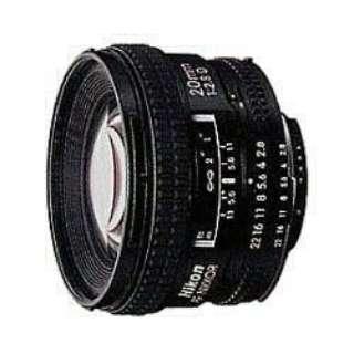 カメラレンズ AI AF Nikkor 20mm f/2.8D NIKKOR(ニッコール) ブラック [ニコンF /単焦点レンズ]