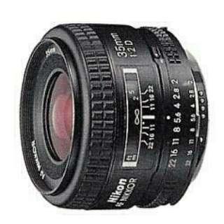 カメラレンズ AI AF Nikkor 35mm f/2D NIKKOR(ニッコール) ブラック [ニコンF /単焦点レンズ]