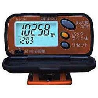 HJ-108-D 歩数計 ステップス パンプキンオレンジ [クリップ式]