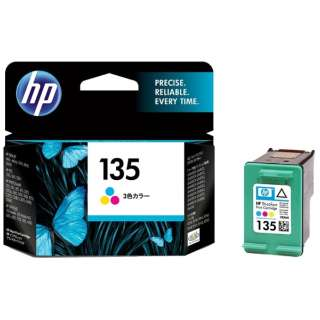C8766HJHP135 純正プリンターインク 135 3色カラー