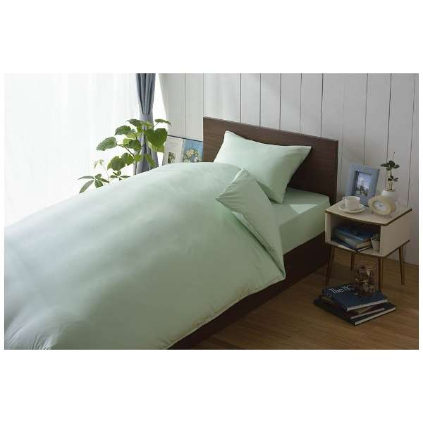 【まくらカバー】スーピマ 標準サイズ(綿100%/45×90cm/グリーン)【日本製】