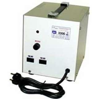 変圧器 (アップダウントランス) 「トランスフォーマ SKシリーズ」(220V⇔100V・容量3300W) SK-3300E