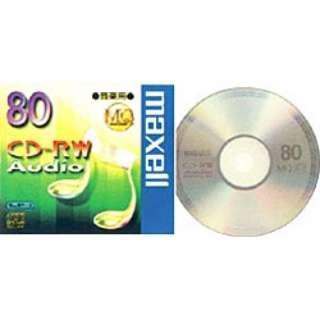 CDRWA80MQ1TP 音楽用CD-RW [1枚]