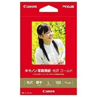 写真用紙・光沢 ゴールド (L判・100枚) GL-101L100