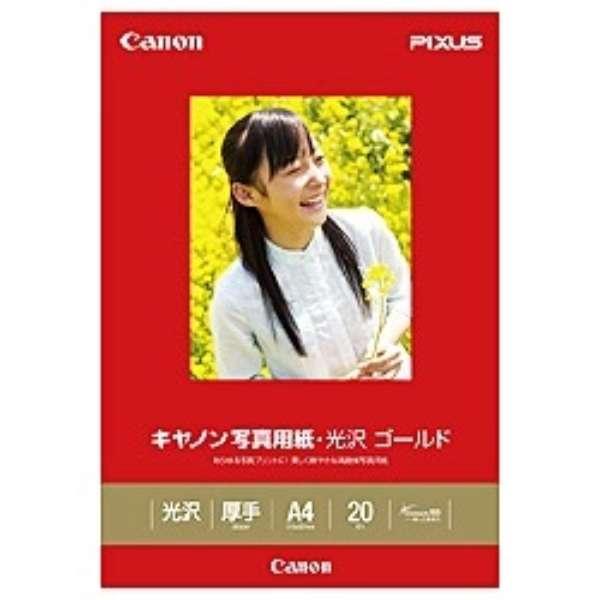 写真用紙・光沢 ゴールド (A4・20枚) GL-101A420