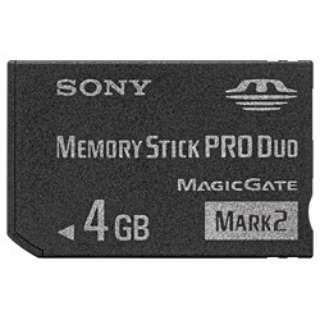 メモリースティックPRO Duo MS-MT4G [4GB]