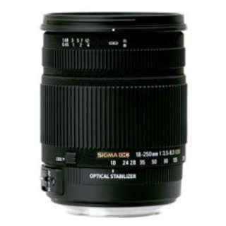 カメラレンズ 18-250mm F3.5-6.3 DC OS HSM ブラック [ソニーA(α) /ズームレンズ]