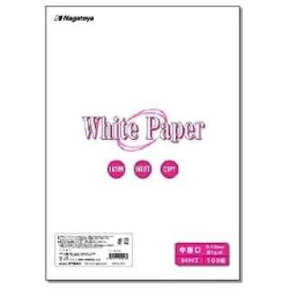 """""""ホワイトペーパー"""" 中厚口 (B4サイズ・100枚) ナ-003"""