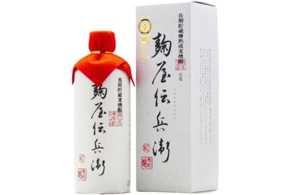 老松酒造「長期貯蔵麦焼酎 麹屋伝兵衛 41度」