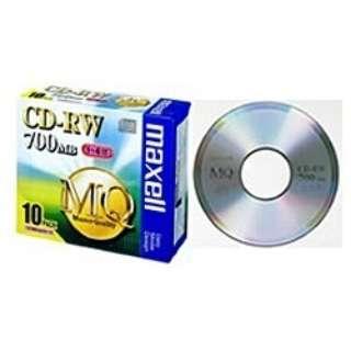 CDRW80MQ.S1P10S データ用CD-RW MQシリーズ [10枚 /700MB]