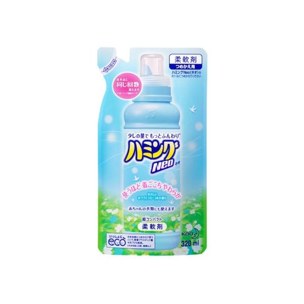 ハミング Neo ホワイトフローラルの香り つめかえ用 320ml