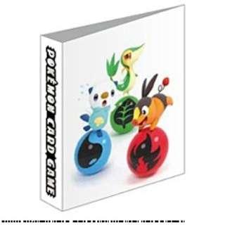 ポケモンカードゲーム オフィシャルミニカードファイル ツタージャ・ポカブ・ミジュマル