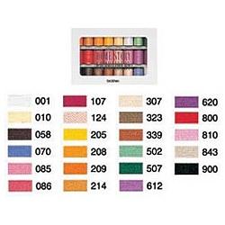 ブラザー販売 ブラザー 刺しゅう糸 23色セット 1セット