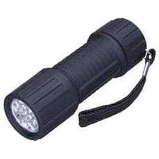 LL81BK 懐中電灯 ブラック [LED /単4乾電池×3 /防水]