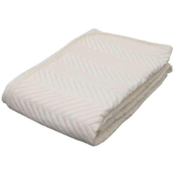 【ベッドパッド】ウォッシャブルベッドパッド(シングルサイズ/100×200cm)【日本製】