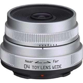 カメラレンズ 04 TOY LENS WIDE 6.3mm F7.1 シルバー [ペンタックスQ /単焦点レンズ]