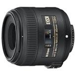 カメラレンズ AF-S DX Micro NIKKOR 40mm f/2.8G APS-C用 NIKKOR(ニッコール) ブラック [ニコンF /単焦点レンズ]