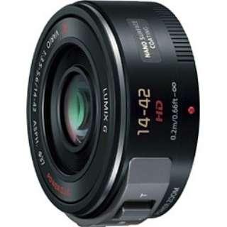 カメラレンズ LUMIX G X VARIO PZ 14-42mm/F3.5-5.6 ASPH./ POWER O.I.S. LUMIX(ルミックス) ブラック H-PS14042-K [マイクロフォーサーズ /ズームレンズ]