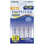 TNHC-34AH 充電器 IMPULSE [充電器+充電池 /単3形4本 /単3形~単4形兼用]