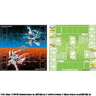 ポケモンカードゲーム 丈夫なプレイマット ブラックキュレム・ホワイトキュレム