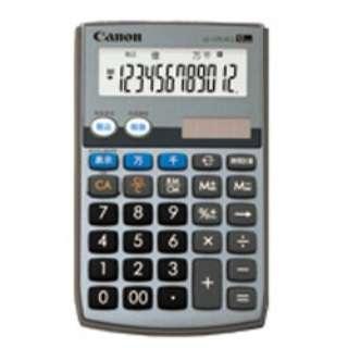手帳型電卓 LS-12TU II G SOB [12桁]