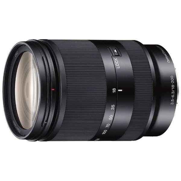 カメラレンズ E 18-200mm F3.5-6.3 OSS LE APS-C用 ブラック SEL18200LE [ソニーE /ズームレンズ]