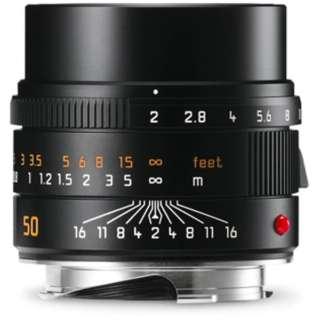 カメラレンズ M F2/50mm?ASPH. APO-SUMMICRON(アポ・ズミクロン) ブラック [ライカM /単焦点レンズ]