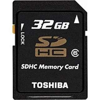 SDHCカード SD-GH032G [32GB /Class6]