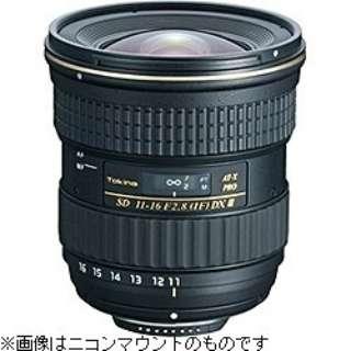 カメラレンズ AT-X 116 PRO DX II APS-C用 ブラック [キヤノンEF /ズームレンズ]