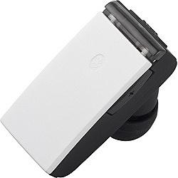 スマートフォン対応[Bluetooth4.0] 片耳ヘッドセット USB充電ケーブル付 (ホワイト) BSHSBE23WH