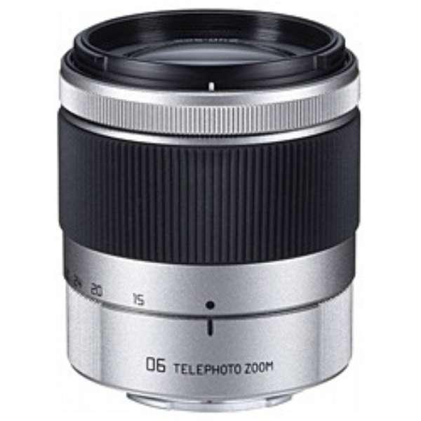 カメラレンズ 06 TELEPHOTO ZOOM 15-45mm F2.8 シルバー [ペンタックスQ /ズームレンズ]