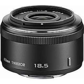 カメラレンズ 1 NIKKOR 18.5mm f/1.8 NIKKOR(ニッコール) ブラック [ニコン 1 /単焦点レンズ]