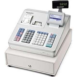 電子レジスター (ブロック別キーボードタイプ) XE-A407-W(ホワイト)