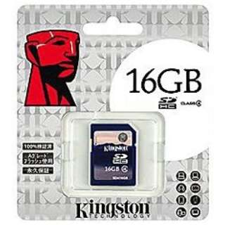 SDHCカード KF-C0816-3A [16GB /Class4]