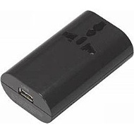 Conversion plug (multi-type) +1USB HPM4BK black for overseas travel