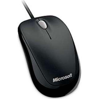 U81-00084 マウス Compact Optical Mouse 500 ブラック  [光学式 /3ボタン /USB /有線]