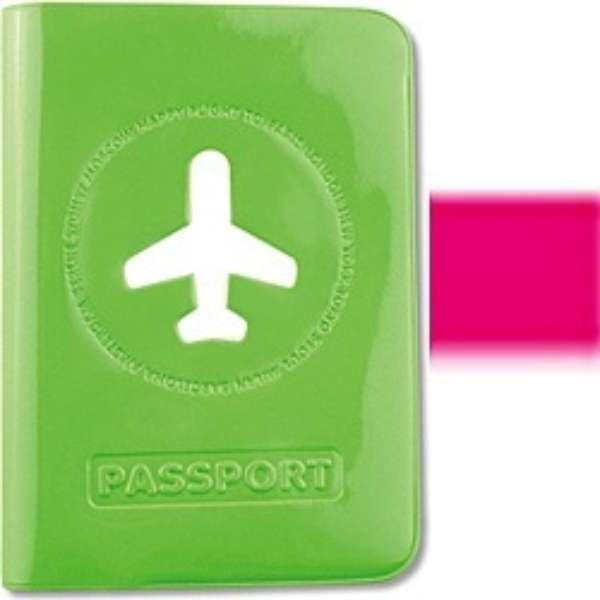 ALIFE ハッピーフライト パスポートカバー SNCF-012-1 ローズ