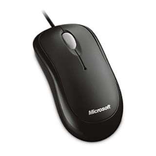 P58-00069 マウス Basic Optical Mouse セサミブラック  [光学式 /3ボタン /USB /有線]