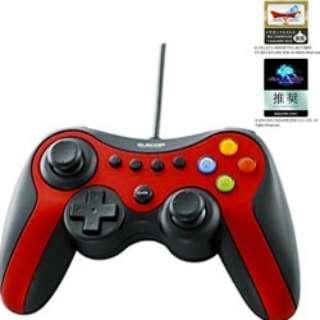 JC-U3613MRD 【ドラゴンクエストX/FF XIV:新生エオルゼア 推奨】ゲームパッド レッド [USB /Windows /13ボタン]