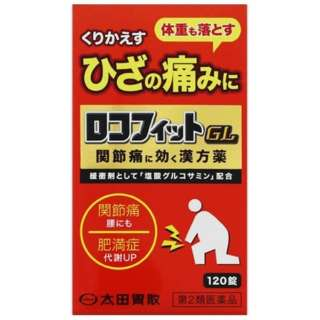 【第2類医薬品】 ロコフィットGL(120錠)