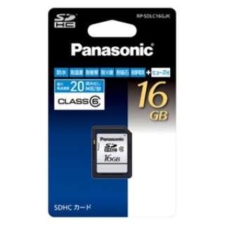 SDHCカード RP-SDLC16GJK [16GB /Class6]