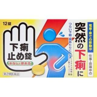 【第2類医薬品】 下痢止め錠「クニヒロ」(12錠)〔下痢止め〕
