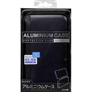 3DSLL用 アルミニウムケース ブラック【3DS LL】