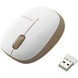 M-BL20DBBR マウス ブラウン  [BlueLED /3ボタン /USB /無線(ワイヤレス)]