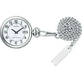 懐中時計 ソーラーテック電波時計 レグノ(REGUNO) KL7-914-11 [電波自動受信機能有]