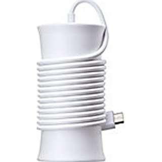 [micro USB]ケーブル一体型AC充電器 (1.5m・ホワイト)[SoftBank SELECTION]SB-AC10-JSSM/WH