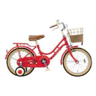 18型 幼児用自転車 ハッチ(レッド)HC182 【組立商品につき返品不可】