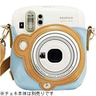 """カメラバッグ(速写ケース) """"チェキ"""" instax mini 25用(ブルー)[生産完了品 在庫限り]"""