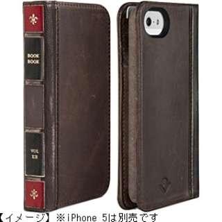 iPhone 5s/5用 BookBook (レジャーブラウン) TWS-PH-000006