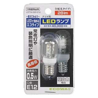 LDT1N-G20-E12 LED電球 クリア [E12 /昼白色 /1個 /ナツメ球形]
